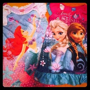Disney Princess Night Gowns